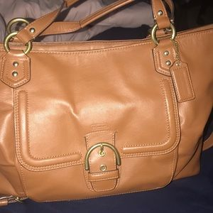 Vintage Coach Top Handle Satchel